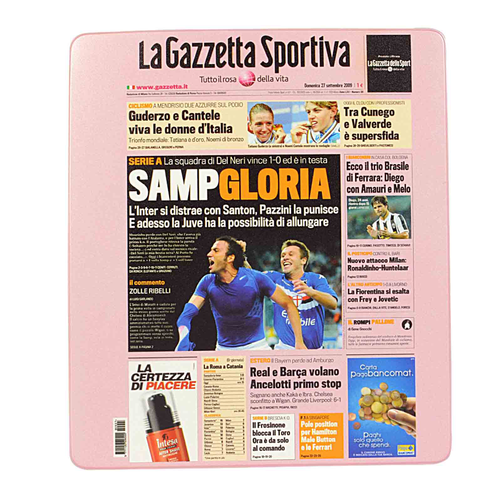 Mousepad Sampdoria - Cover iPhone/iPad