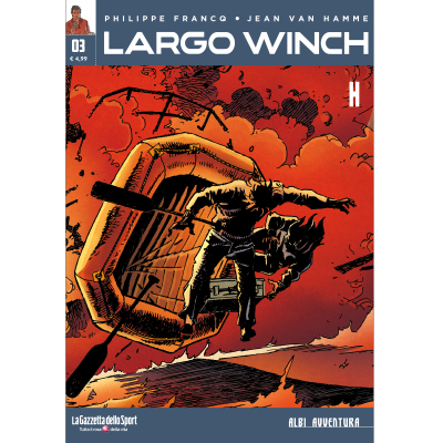 LARGO WINCH 3 - ALBI AVVENTURA