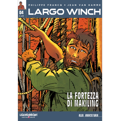 LARGO WINCH 4 - ALBI AVVENTURA