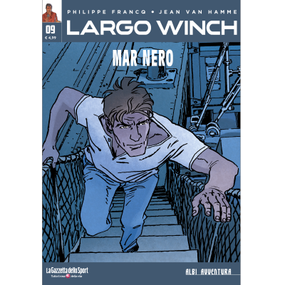 LARGO WINCH 9 - ALBI AVVENTURA