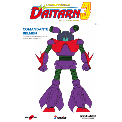 Uscita 8 - DAITARN 3 - 3D COLLECTION