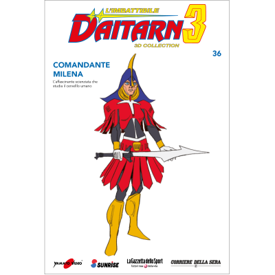 Uscita 36 - DAITARN 3 - 3D COLLECTION