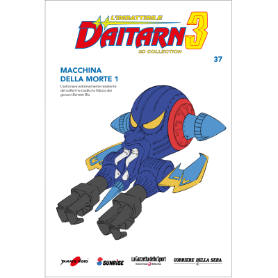 Uscita 37 - DAITARN 3 - 3D COLLECTION