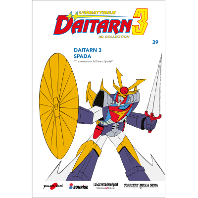 Uscita 39 - DAITARN 3 - 3D COLLECTION