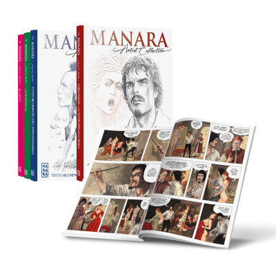 Collana 31 - 45 - MANARA ARTIST COLLECTION