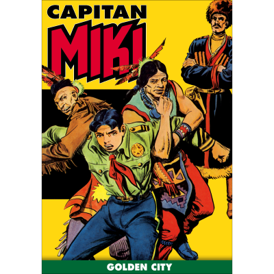 Golden city - CAPITAN MIKI