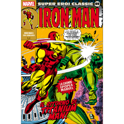 IRON MAN 06 - SUPER EROI CLASSIC