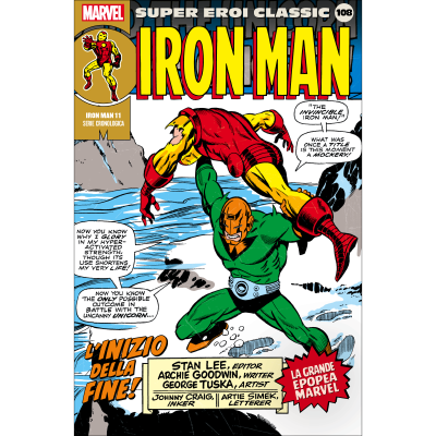 108. IRON MAN 11 - SUPER EROI CLASSIC