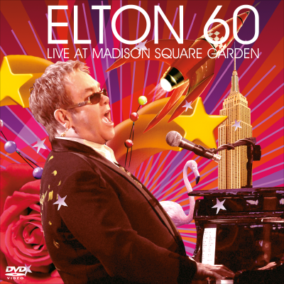 Elton 60 - Live At Madison Square Garden (2 dvd) - ELTON JOHN COLLECTION