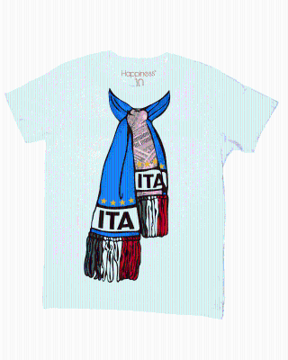 T-Shirt Uomo Italia Happiness - HAPPINESS for