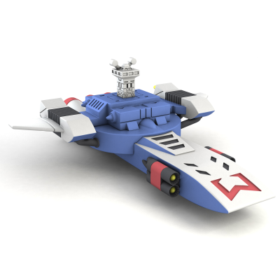 Trinity City Starship - ANIME ROBOT