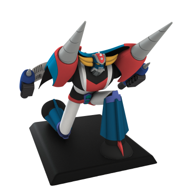 Grendizer + Drill Spacer - GO NAGAI SPECIAL EDITION