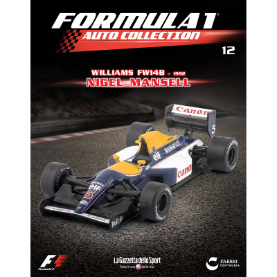 WILLIAMS FW 14B - FORMULA 1 AUTO COLLECTION