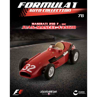 MASERATI 250 F - FORMULA 1 AUTO COLLECTION
