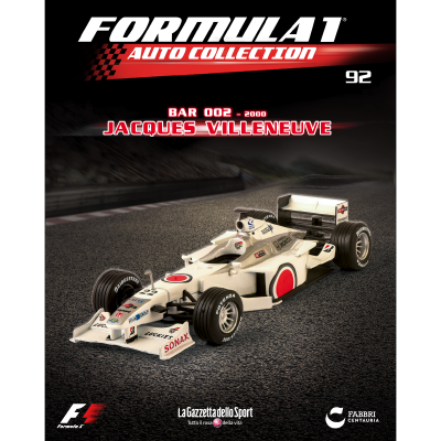 BAR 002 - FORMULA 1 AUTO COLLECTION