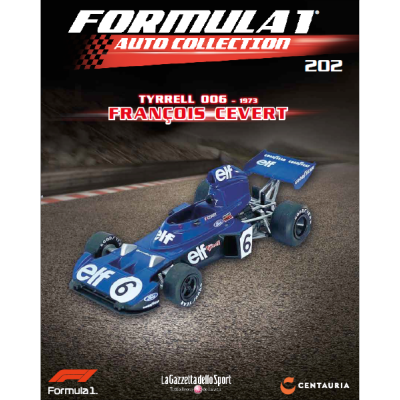 TYRRELL 006 - FORMULA 1 AUTO COLLECTION