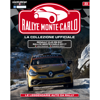 Renault Clio RS R3t - RALLYE MONTE-CARLO