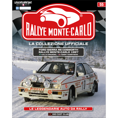 Ford Sierra RS Cosworth - RALLYE MONTE-CARLO